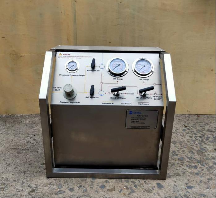 Hydro test pump manufacturers