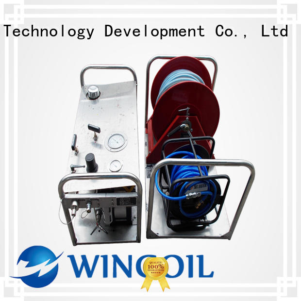 Wingoil corrosion inhibitor injection package in high-pressure for onshore