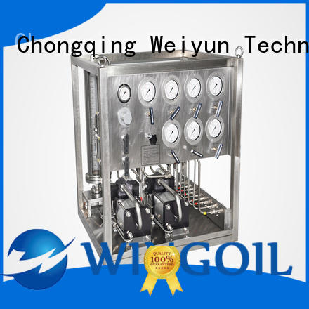 Wingoil chemical metering system widely used for offshore