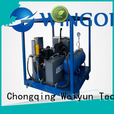 Hydro duct pressure testing equipment in high-pressure For Oil Industry