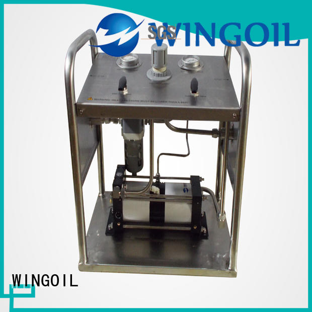 pneumatic hydrostatic test pump With unrivaled expertise for offshore