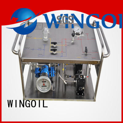 Wingoil hydrostatic test equipment suppliers With unrivaled expertise For Gas Industry