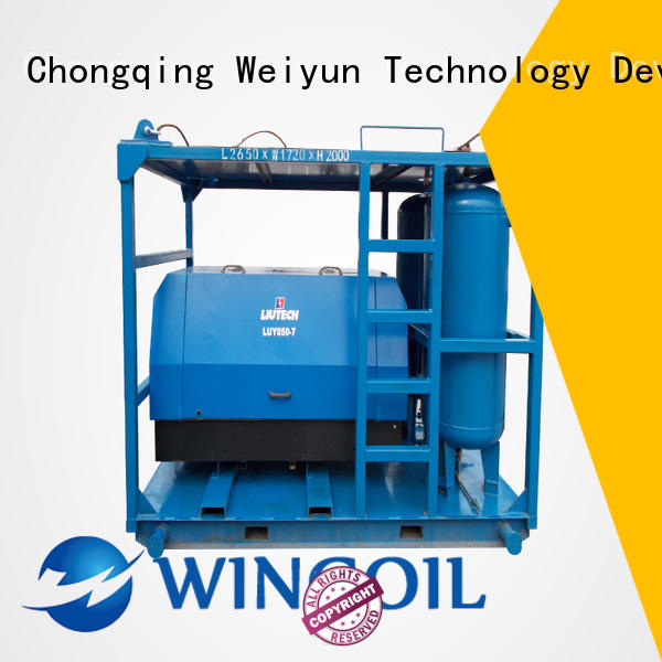 Wingoil popular tube pressure testing equipment widely used For Oil Industry