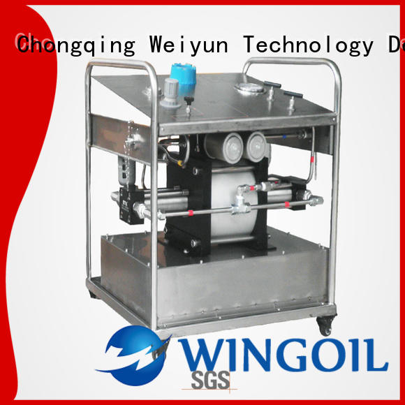 Latest high pressure hydrostatic test pump company for offshore