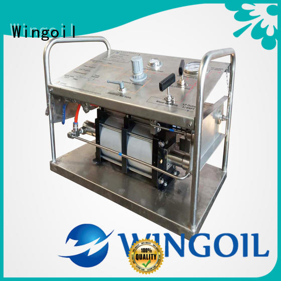 Wingoil drill powered hydrostatic test pump company for offshore