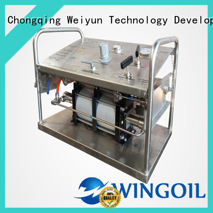 hydrostatic water pump For Gas Industry