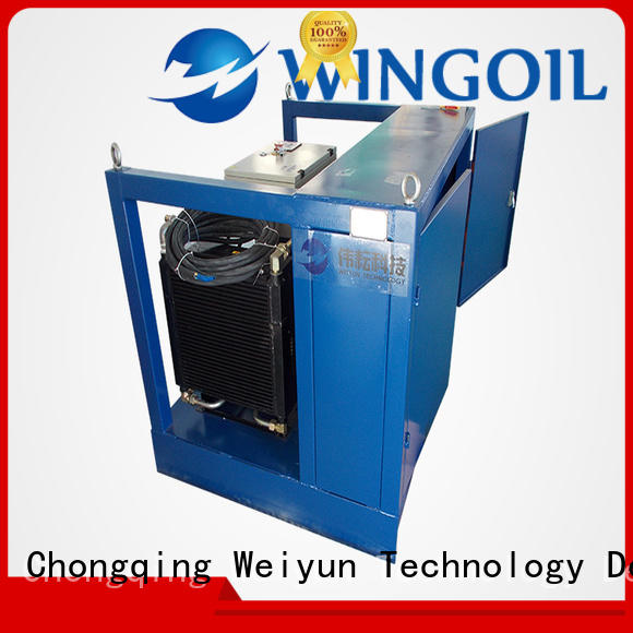 Wingoil duct pressure testing equipment widely used For Gas Industry