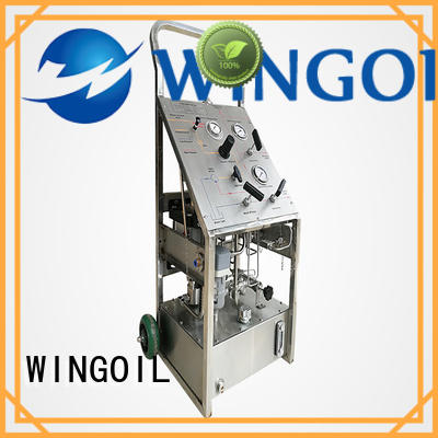Wingoil Safety hydro test unit for business for onshore