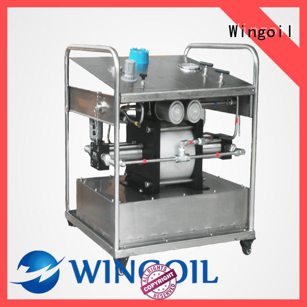 Latest hydrostatic test pump prices Suppliers For Gas Industry