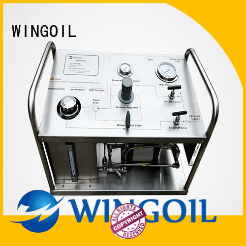 Wingoil Latest pressure test pump 100 bar manufacturers For Oil Industry