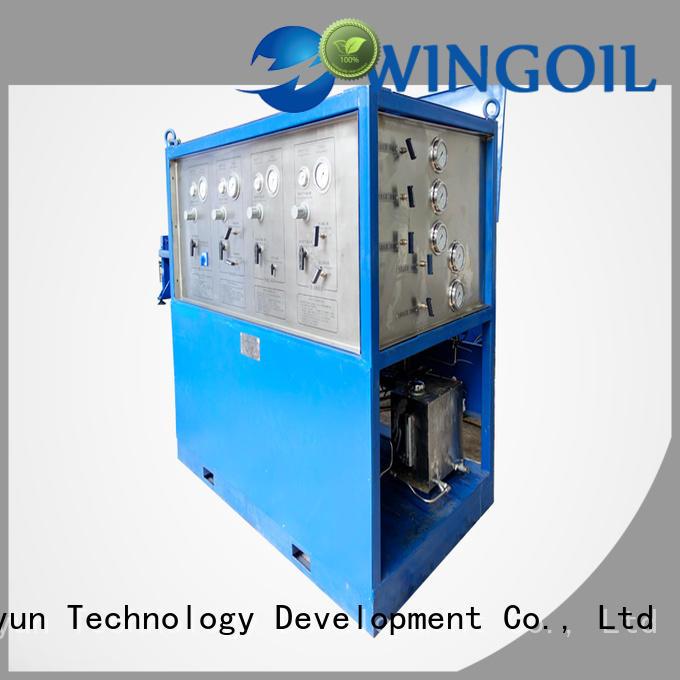 nitrogen pressure testing equipment For Gas Industry