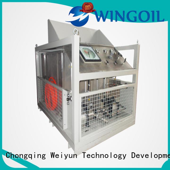 Wingoil popular hose pressure testing equipment For Gas Industry