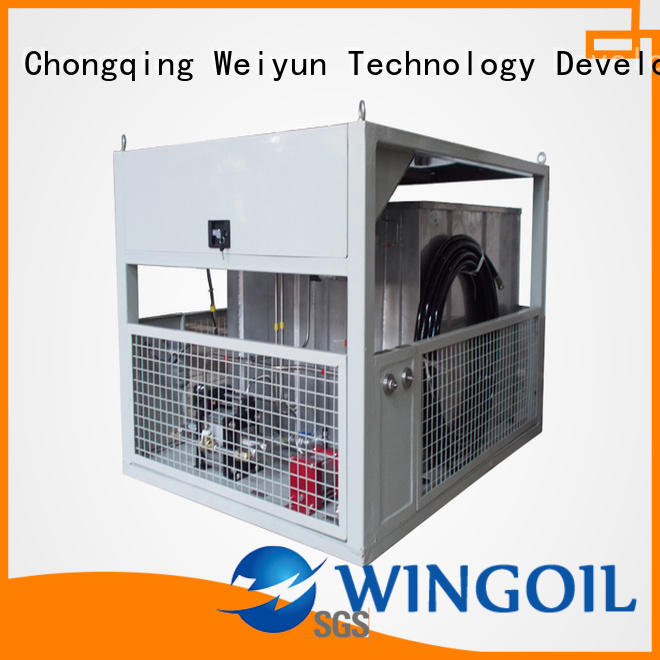 Wingoil leak test procedure for piping manufacturers for offshore