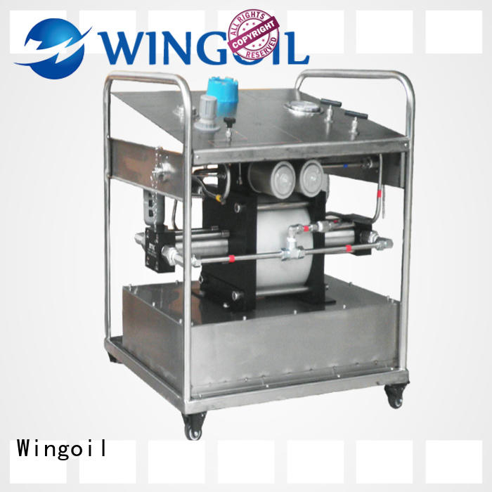 Wingoil hydrostatic water test pump widely used for onshore