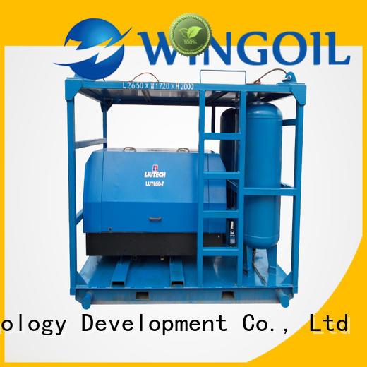 Wingoil pneumatic tube pressure testing equipment infinitely For Oil Industry