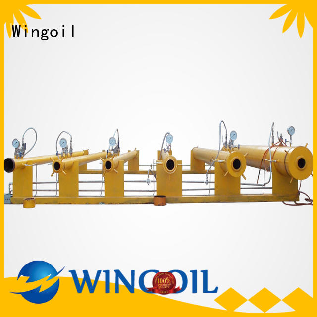Safety high pressure hose testing equipment infinitely for offshore
