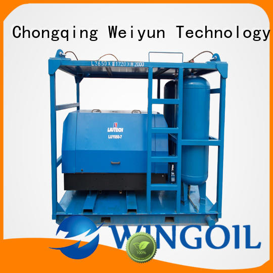 high pressure pneumatic pressure testing equipment widely used For Oil Industry