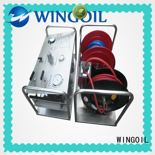 popular rice hydrostatic test pump For Gas Industry