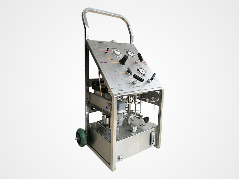 Wingoil Best hydro testing machine manufacturers Suppliers For Gas Industry-1