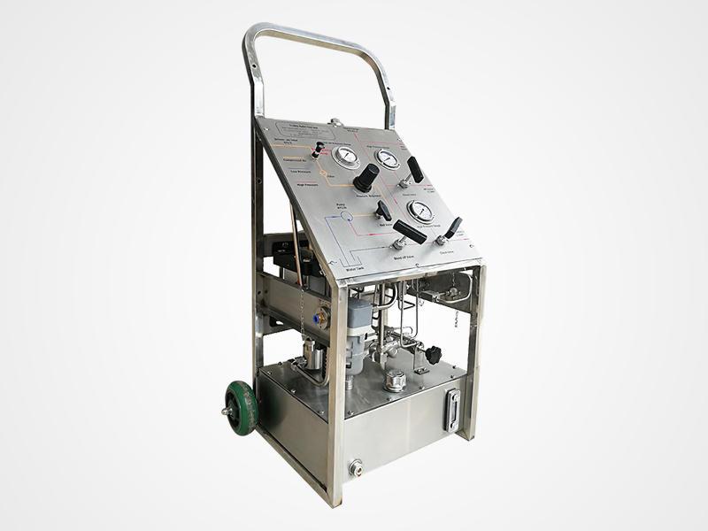 Trolley Pressure Test Pump Portable Hydrostatic Test Pump