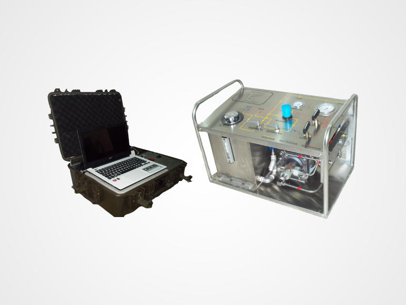 Portable Hydrostatic Water Test Pump With PC Recorder