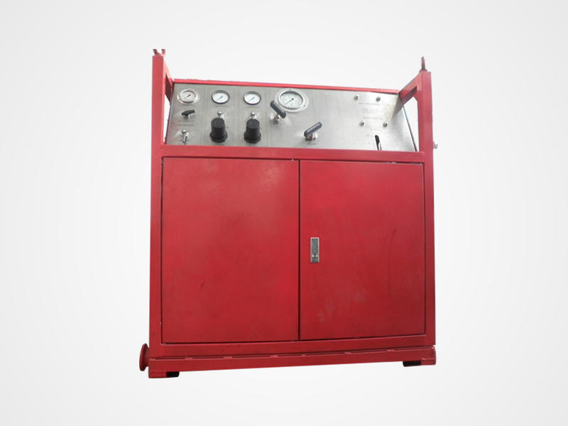 Gas Booster System Duct Pressure Testing Equipment