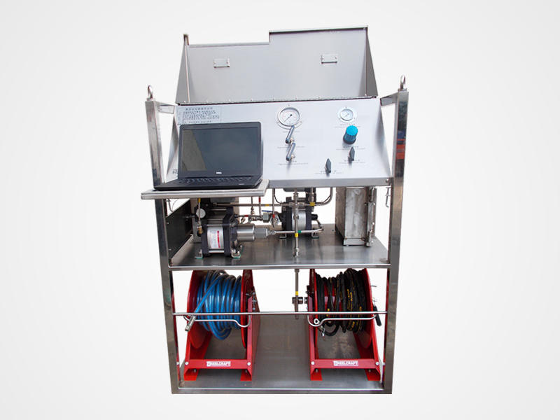 Burst Pressure Test Equipment Dual Hydrostatic Test Pump System