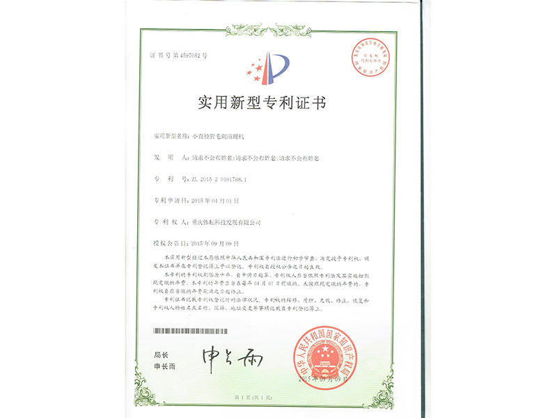 Practical Patent Certificate-3