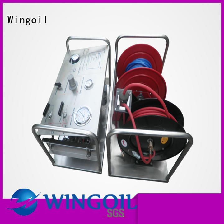 Wingoil hydrostatic water test pump widely used For Oil Industry