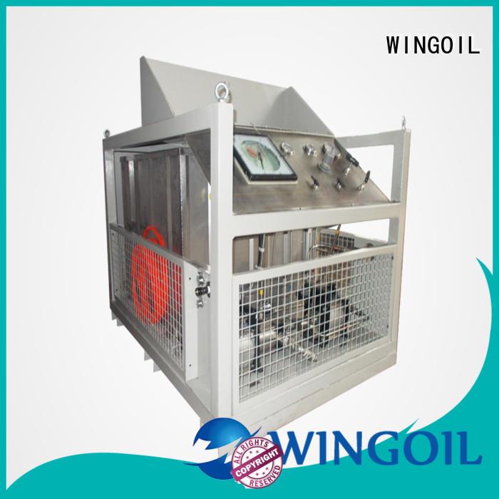 pneumatic nitrogen pressure testing equipment for onshore