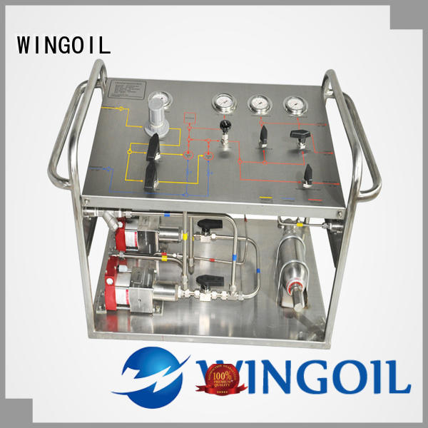 Wingoil Latest hydrostatic test procedure for pipeline for business for onshore