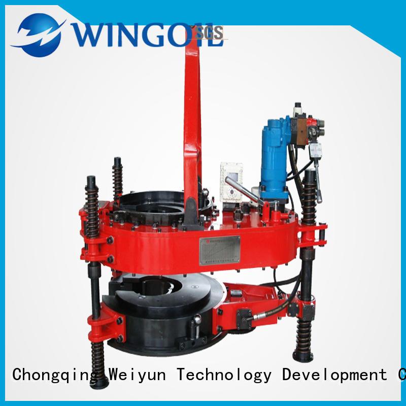 Wingoil dissolvable frac plugs in high-pressure For Oil Industry