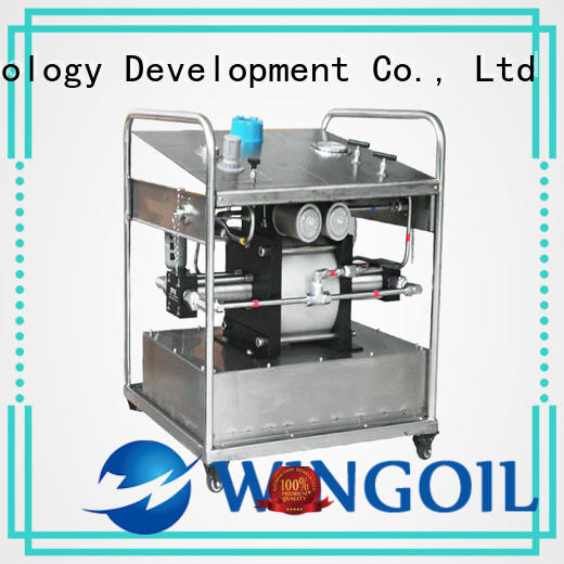 Wingoil corrosion inhibitor injection system in high-pressure for onshore