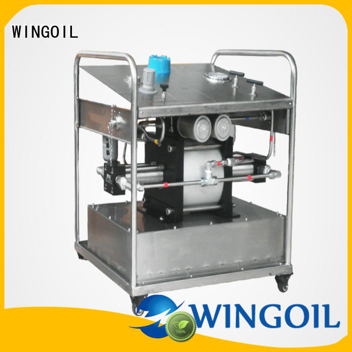 Wingoil manual pressure pump for pressure testing infinitely for onshore