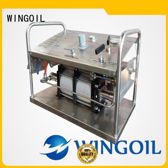 Wingoil hydrostatic test kit factory for onshore