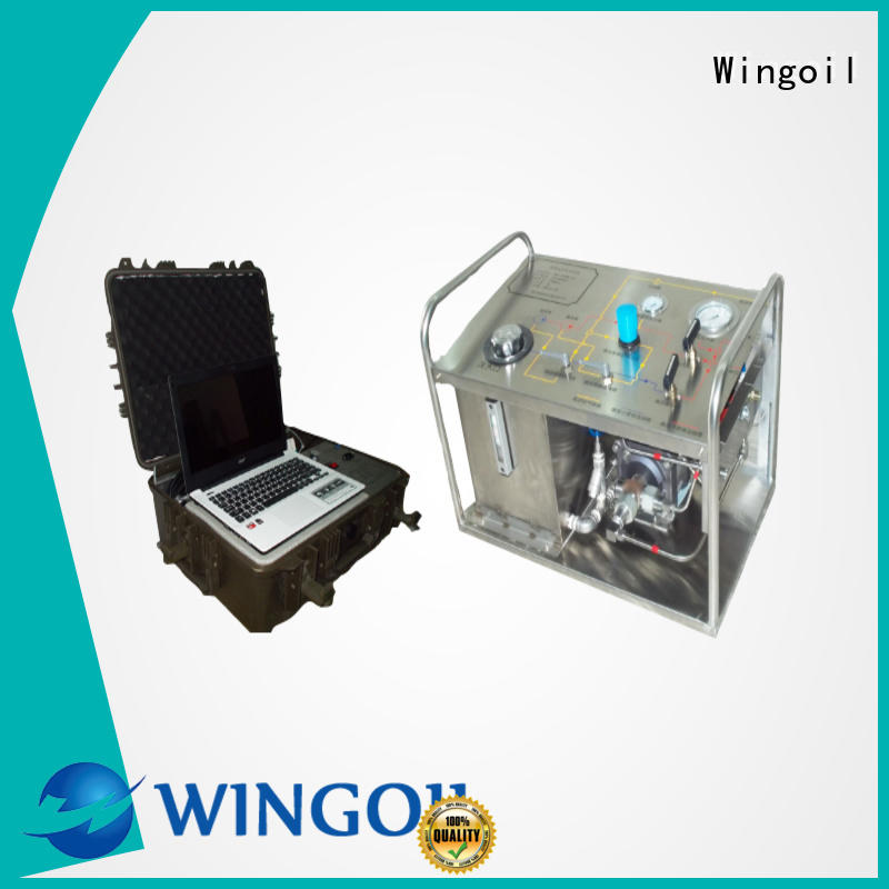 Wingoil Custom hydro test pump manufacturers in india Suppliers for onshore