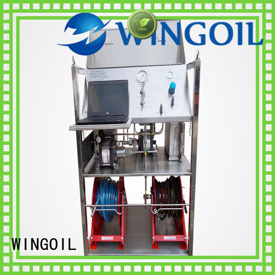 Wingoil Safety hydro test unit Suppliers For Oil Industry