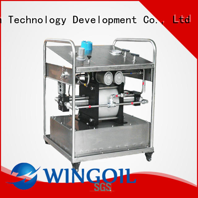 Wingoil Chemical Injection System in high-pressure For Gas Industry