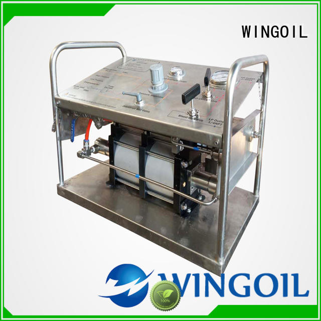 Wingoil hydro pressure test procedure widely used for offshore