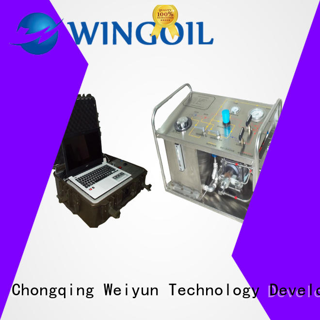 Wingoil portable hydrostatic test pump widely used For Oil Industry