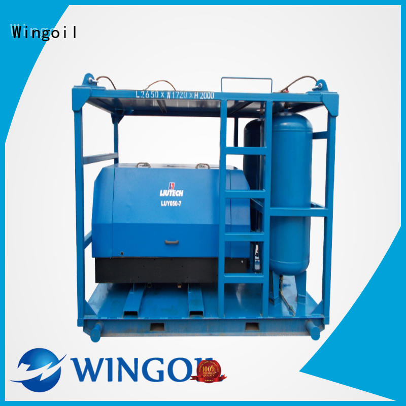 Wingoil pressure checking equipment widely used For Gas Industry