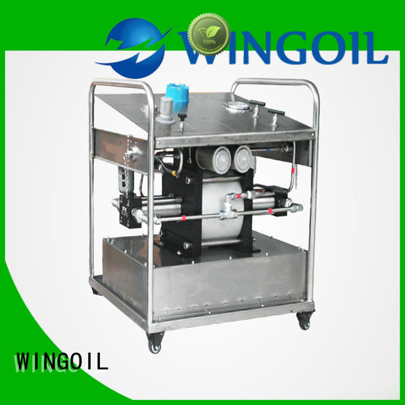 Wingoil solar chemical pumps manufacturers for offshore