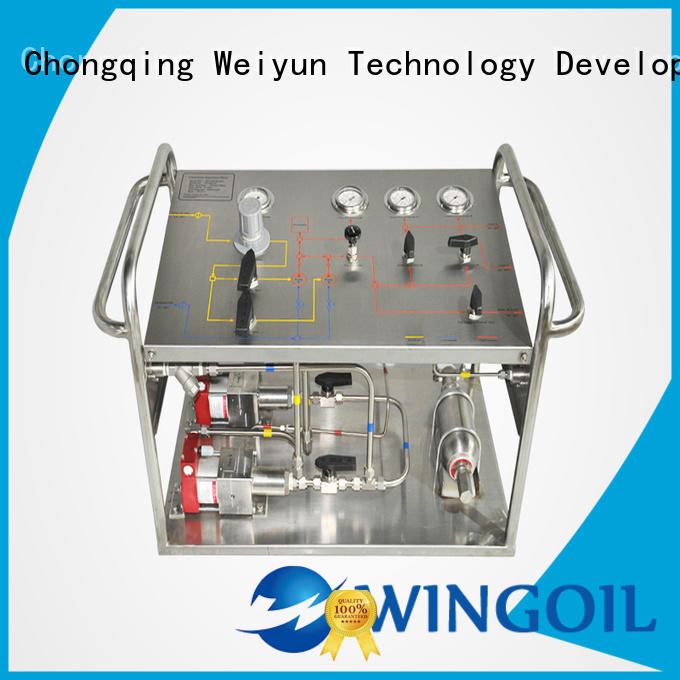 Wingoil corrosion inhibitor injection system widely used for offshore
