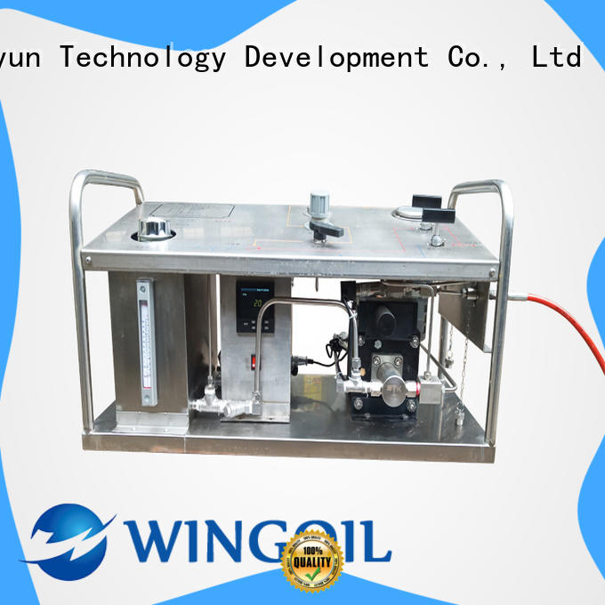 Wingoil hydrostatic pump widely used For Gas Industry