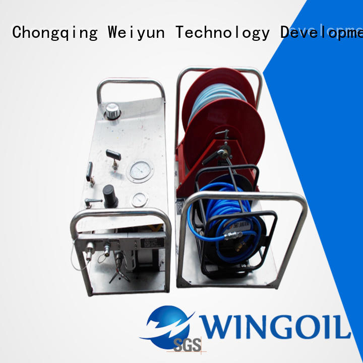 Wingoil Safety chemical controller manufacturers For Gas Industry