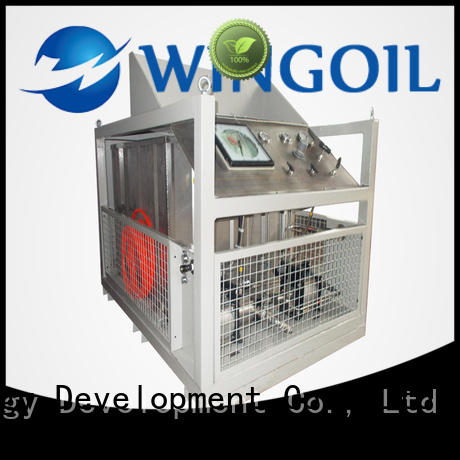 Wingoil Hydro pneumatic pressure testing equipment With unrivaled expertise for offshore