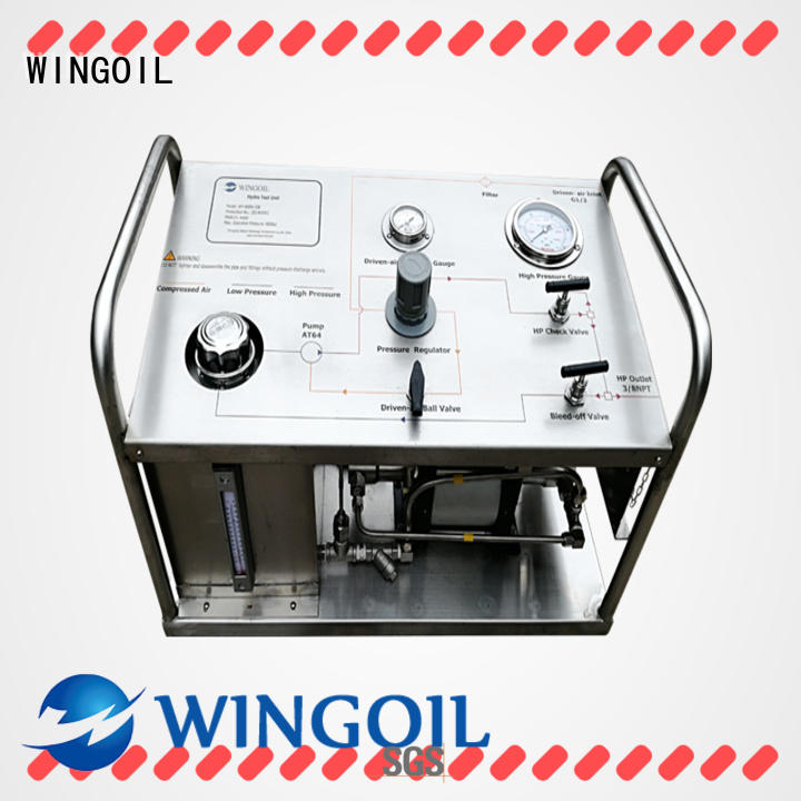 Wingoil Custom hydrotesting pump Suppliers for onshore
