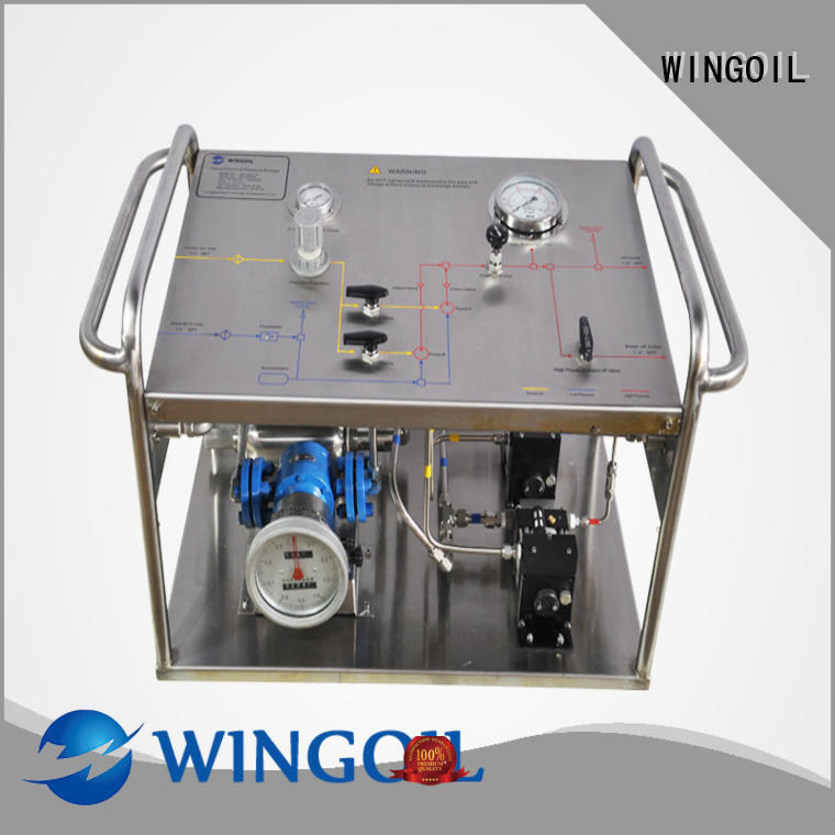 hydrostatic pressure test pump infinitely For Gas Industry