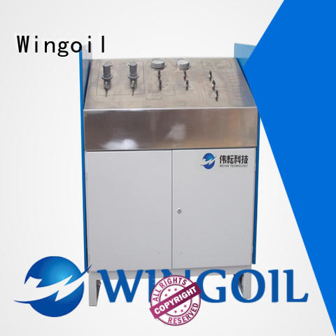 Wingoil valve hydrotest procedure Suppliers for offshore