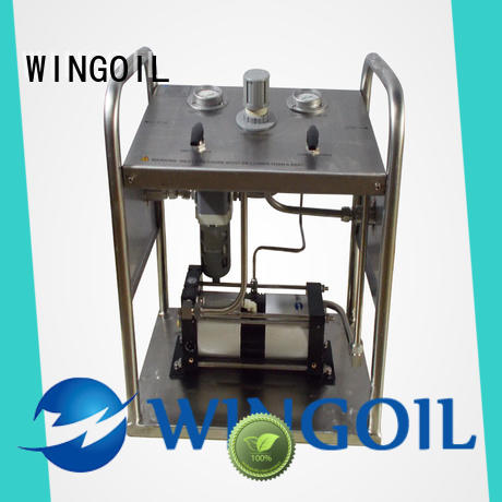 Wingoil hydrostatic test pump widely used for onshore